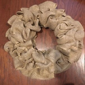 Custom Handmade Burlap Wreath
